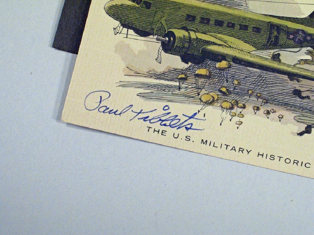 Enola Gay Crew Hiroshima Autograph Lot - 2