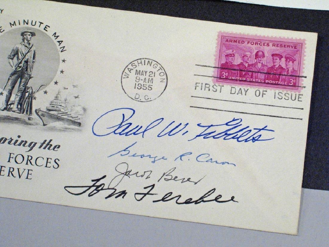 Enola Gay Crew Hiroshima Autograph Lot - 3