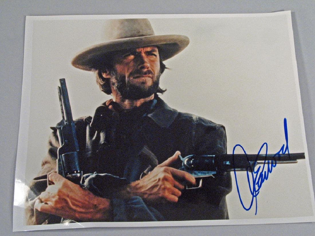 Clint Eastwood Outlaw Josie Wales Autograph
