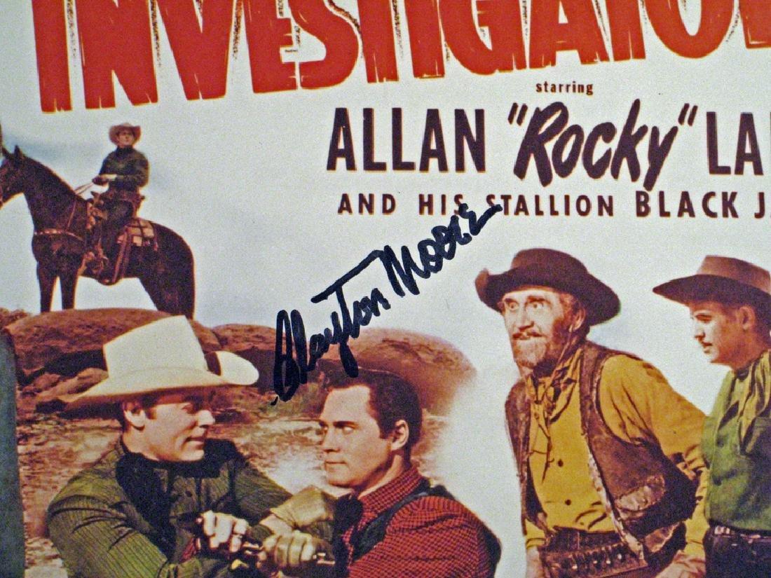 Lone Ranger Clayton Moore Autograph Lot - 3