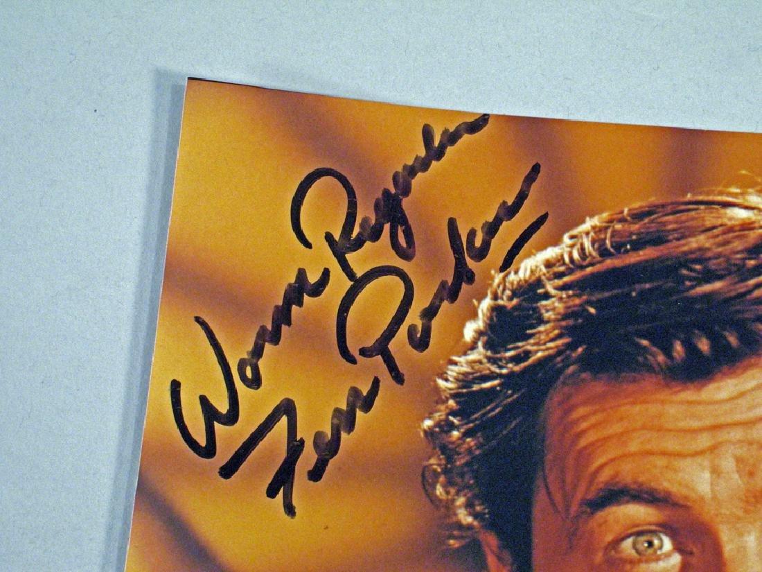 Fess Parker Daniel Boone Autograph Lot Glossy's - 3