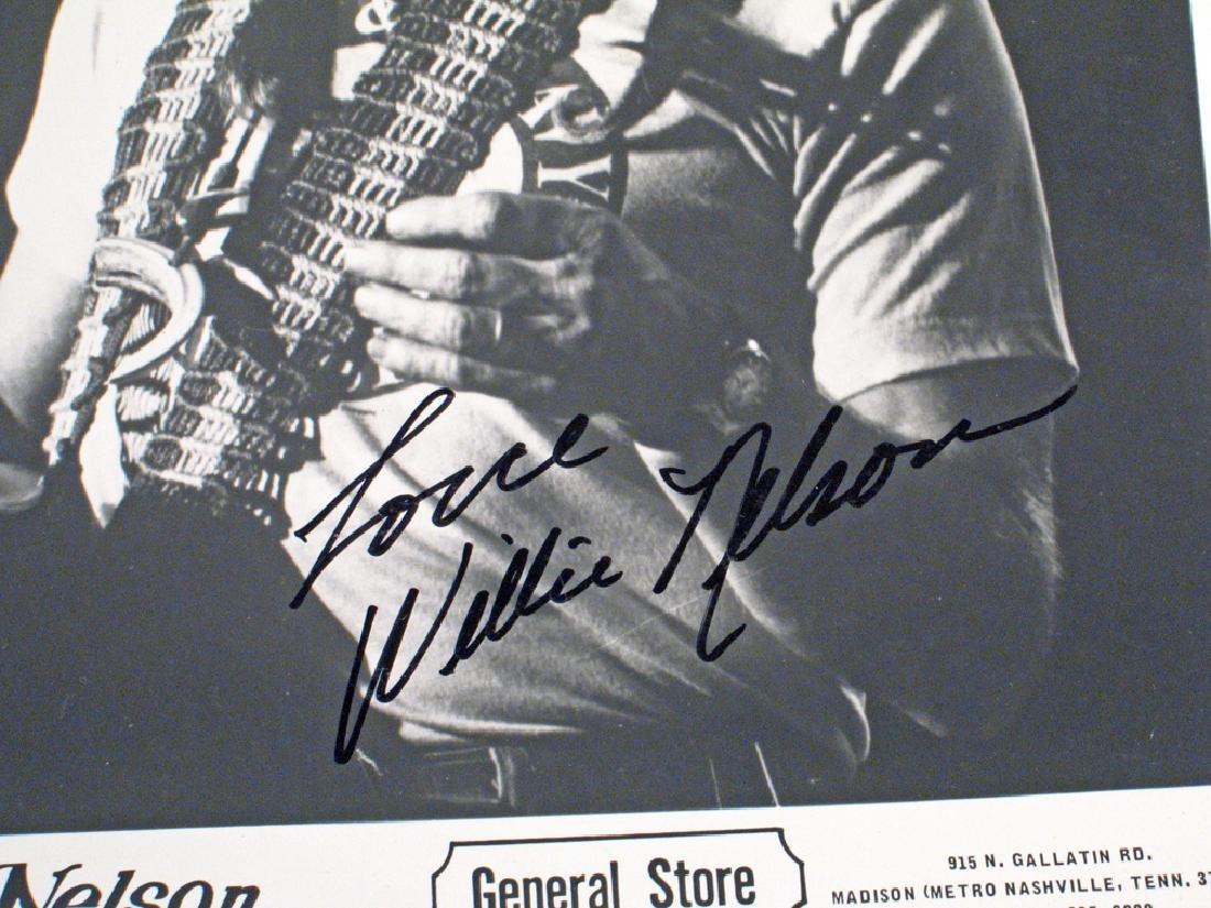 Willie Nelson Promo Photo Autograph - 2