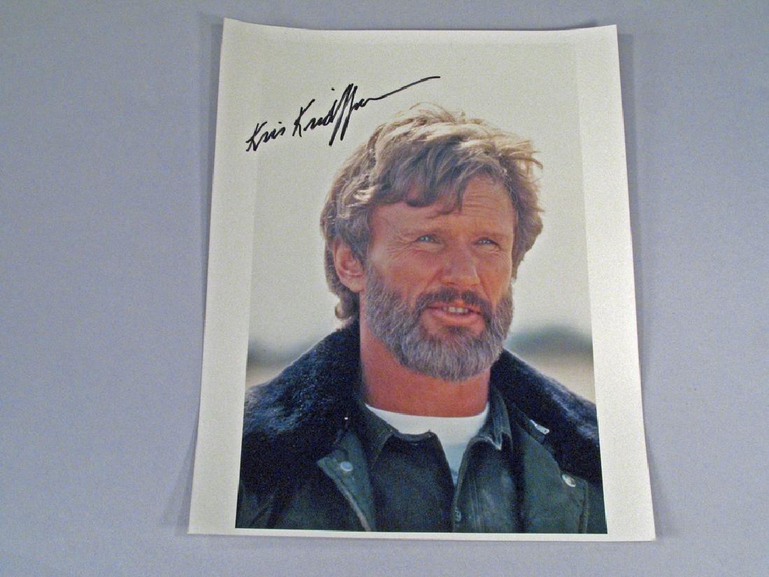 Kris Kristofferson Autograph