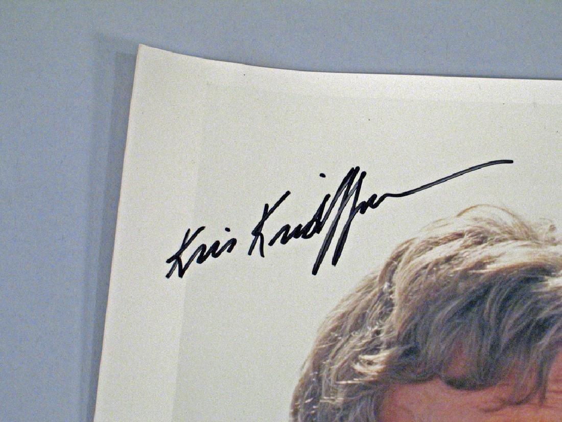 Kris Kristofferson Autograph - 2