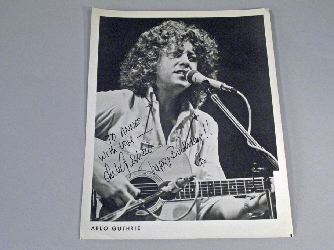 Arlo Guthrie Autograph