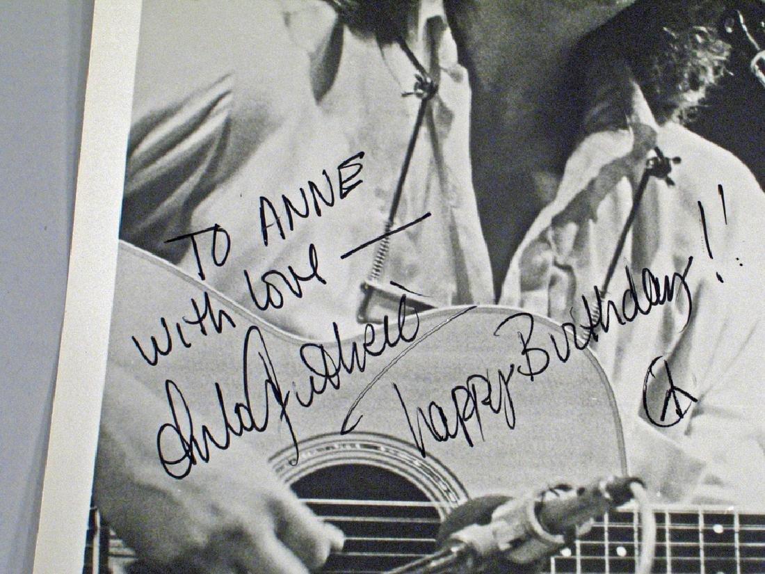 Arlo Guthrie Autograph - 2