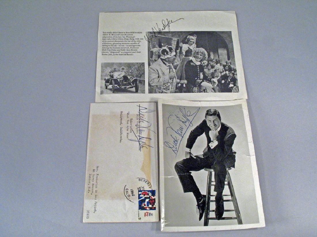 Dick Van Dyke Autograph Lot