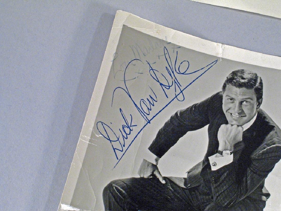 Dick Van Dyke Autograph Lot - 2