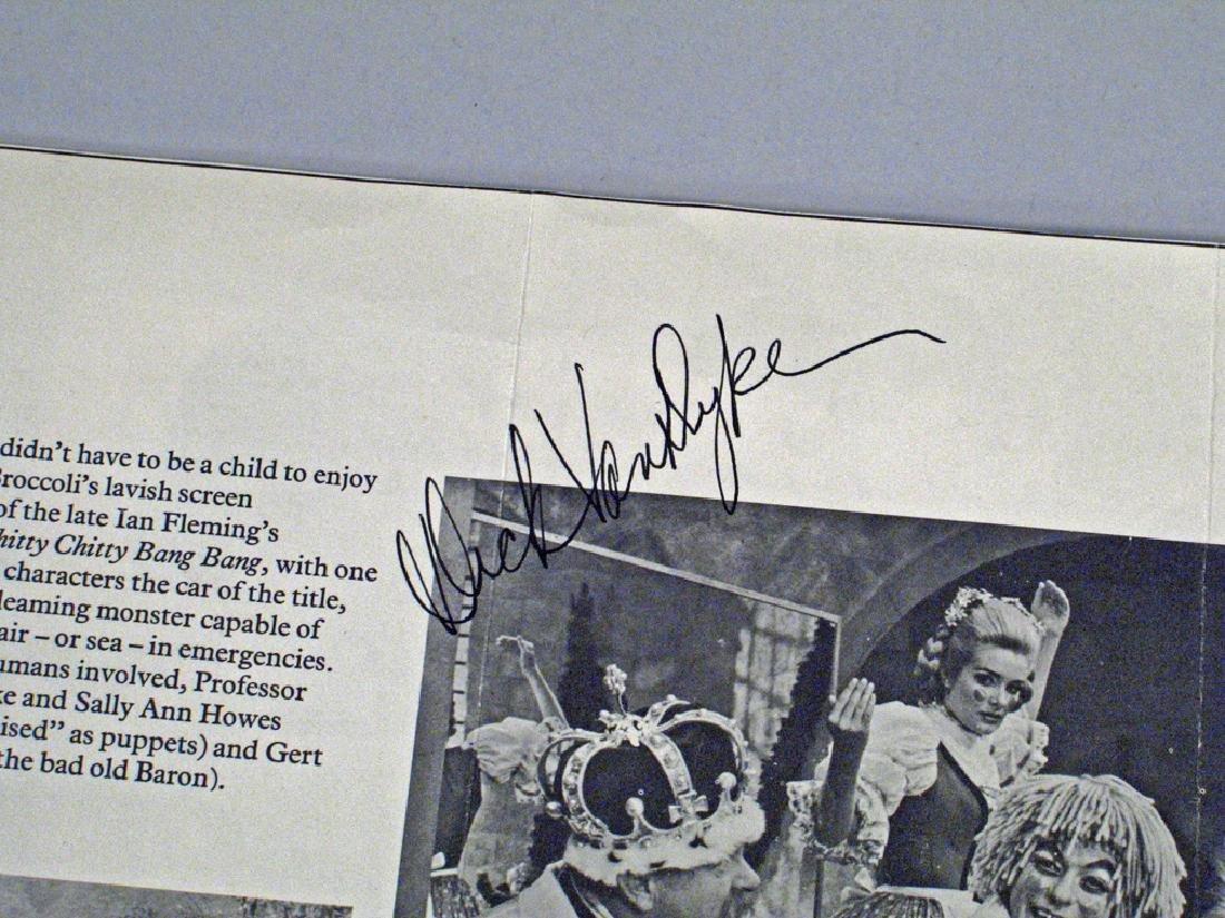Dick Van Dyke Autograph Lot - 4