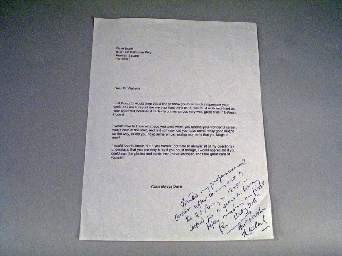 Eli Wallach Autograph