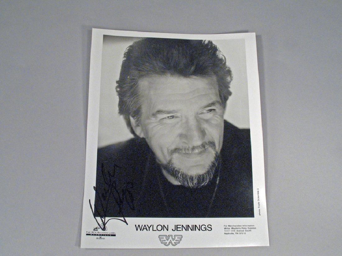 Waylon Jennings Autograph