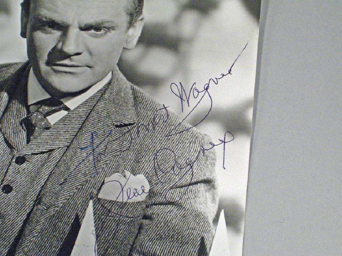 James Cagney Autograph Photo Lot - 2