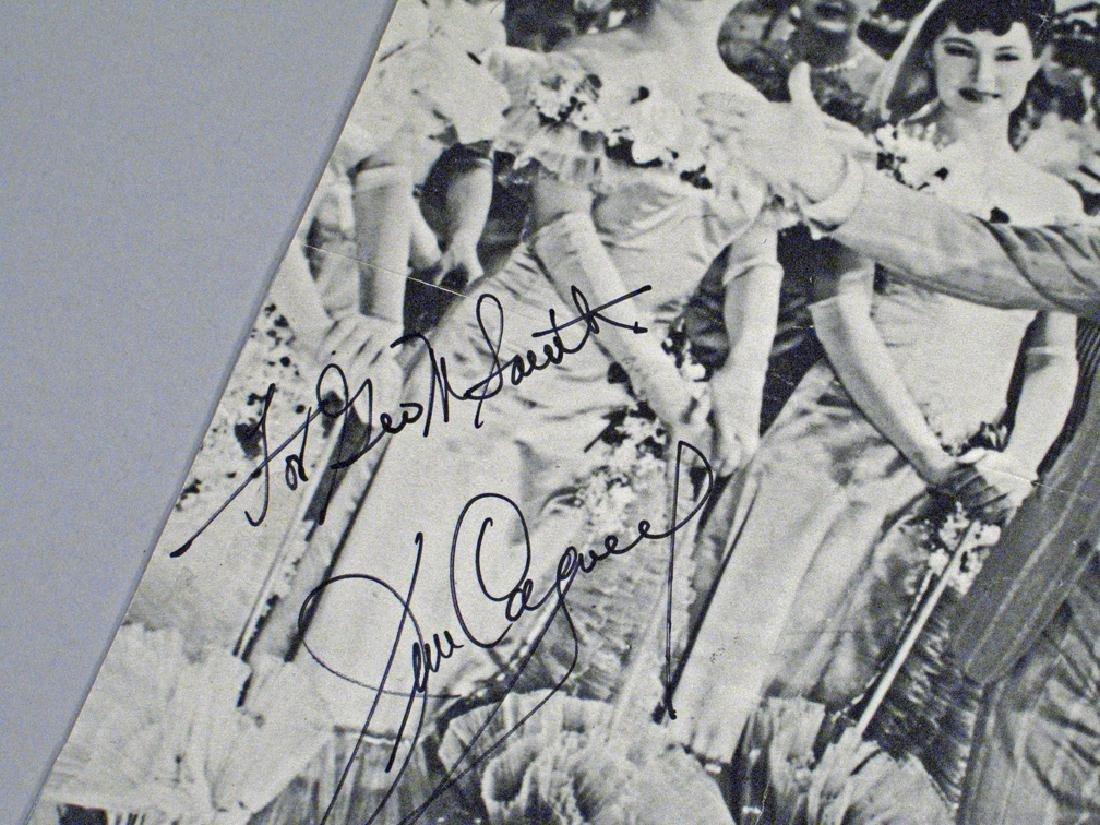 James Cagney Autograph Photo Lot - 3
