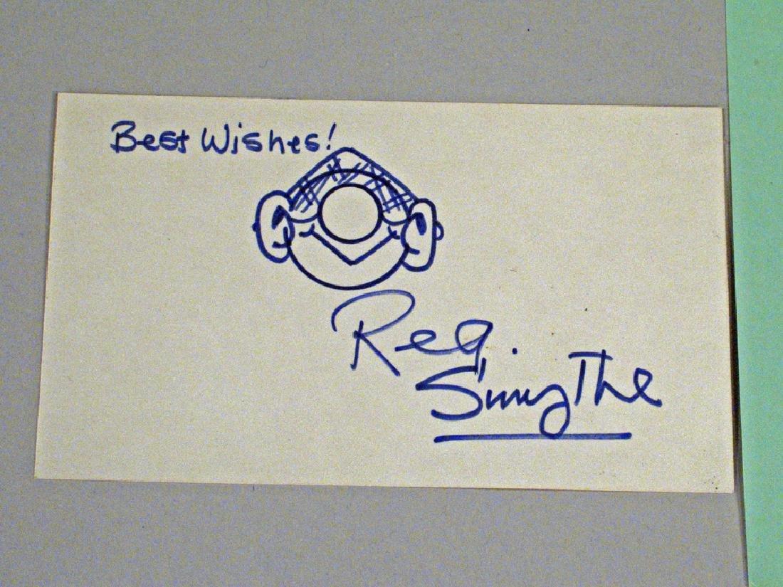 Gumby Autograph Cartoon Art Clokey, Andy Capp Reg - 2