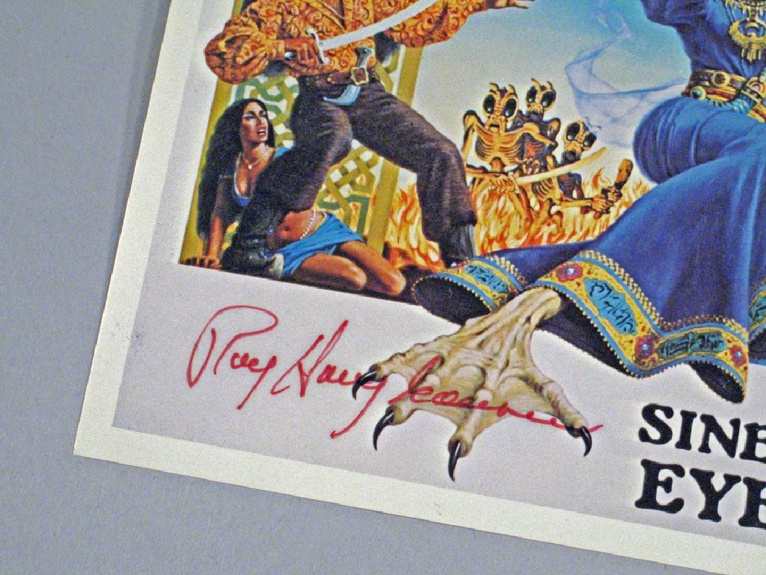 Sinbad The Sailor Ray Harryhaussen Autograph - 2