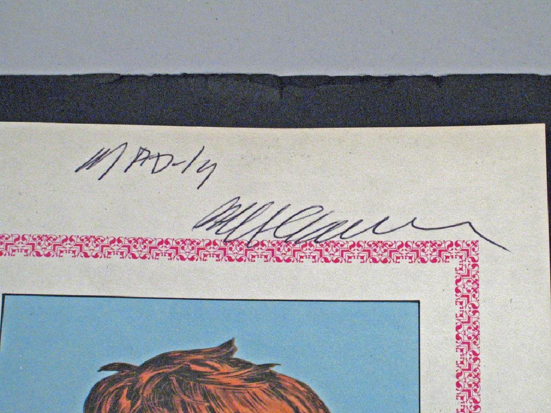 Mad Magazine Autograph William M Gaines - 2