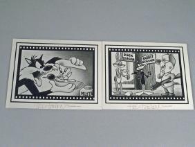 Fritz Freleng Warner Brothers Postcards
