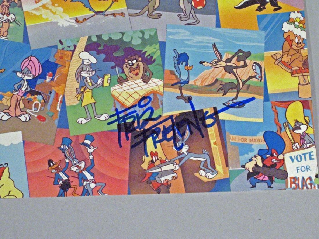 Fritz Freleng Autograph Warner Brothers Postcards - 2