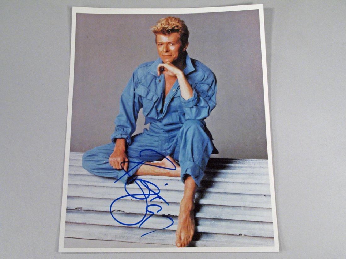 David Bowie Autograph Color 1990's