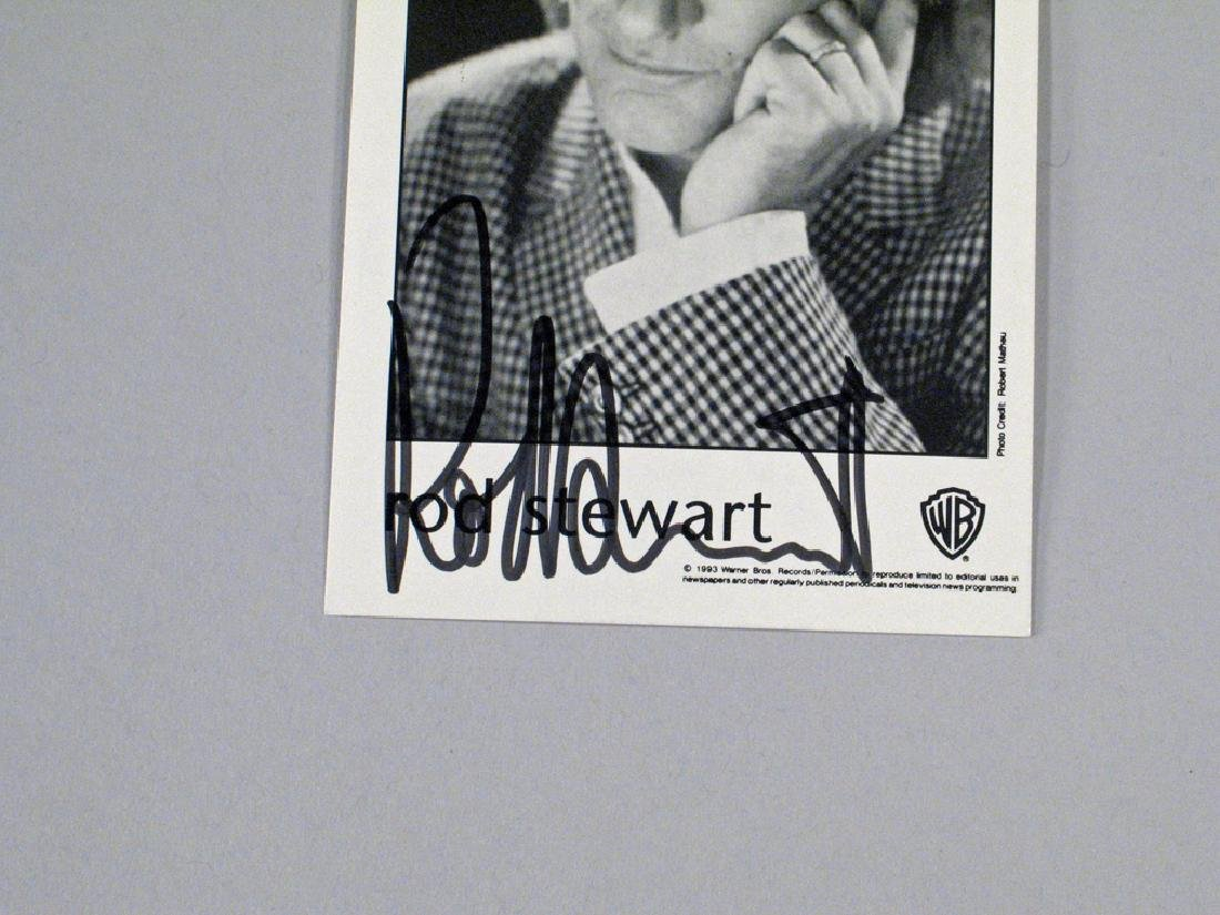 Rod Stewart Autograph