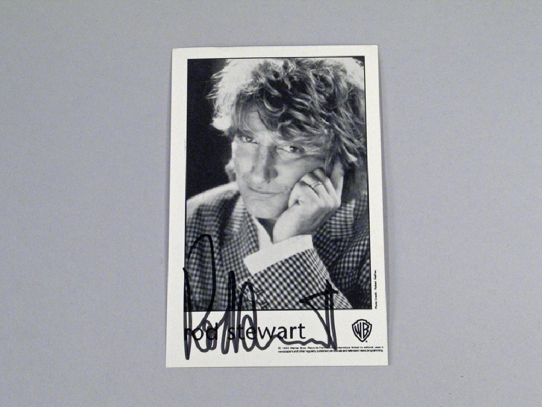 Rod Stewart Autograph - 2