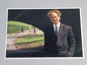 Art Garfunkel of Simon and Garfunkel Autograph