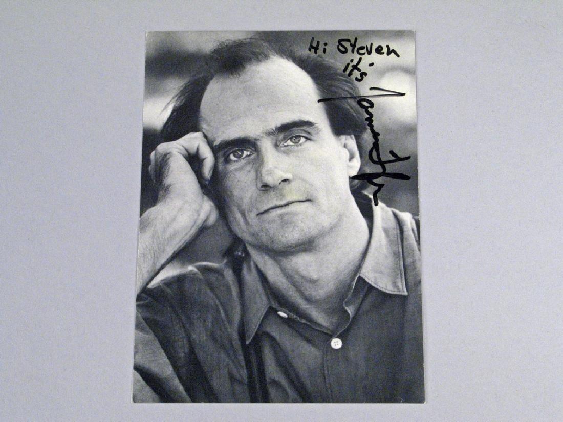 James Taylor Autograph