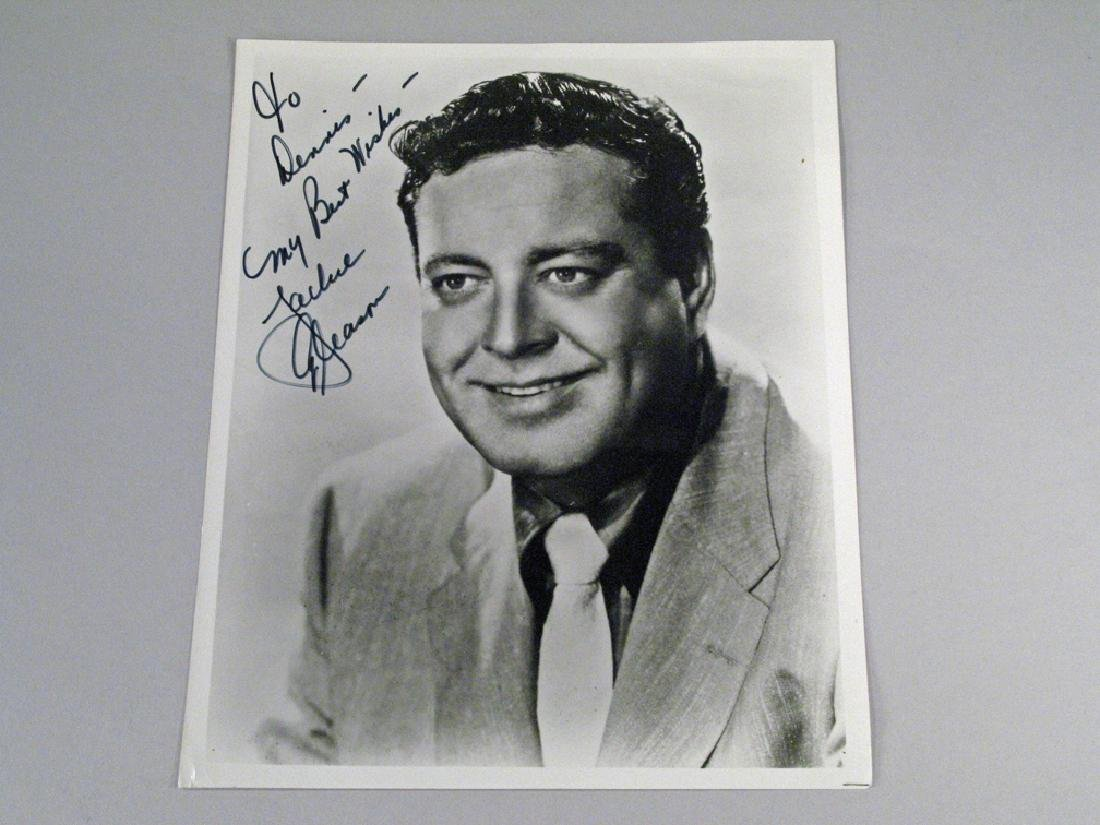 Jackie Gleason Autograph Personalized Note Glossy