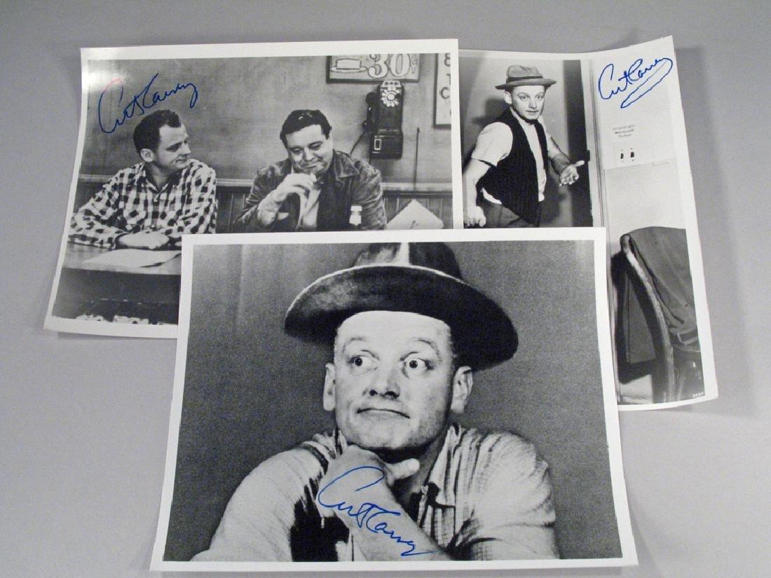 Art Carny The Honeymooners Autograph Lot