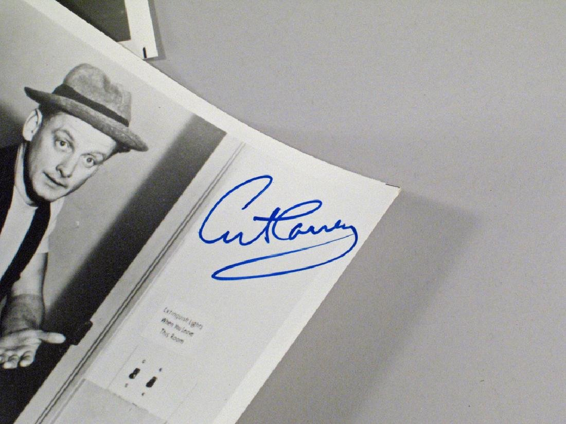 Art Carny The Honeymooners Autograph Lot - 3