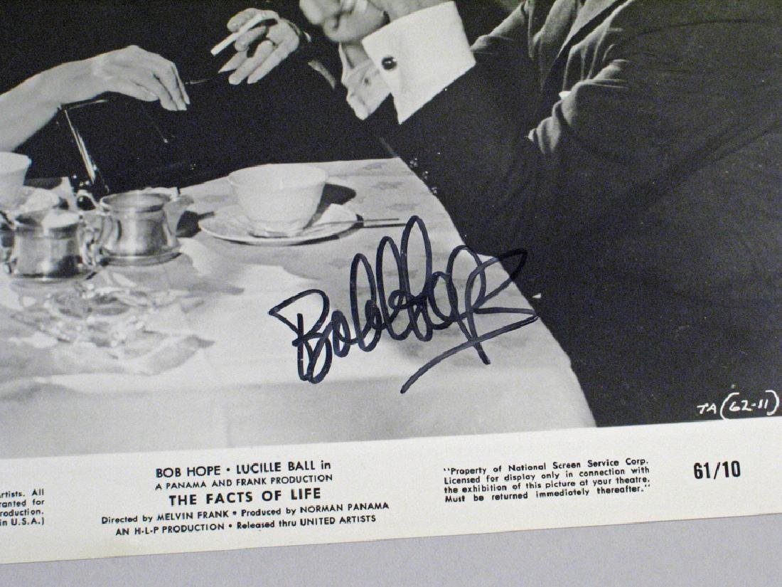 Bob Hope Autograph Movie Promo Still Lot - 2