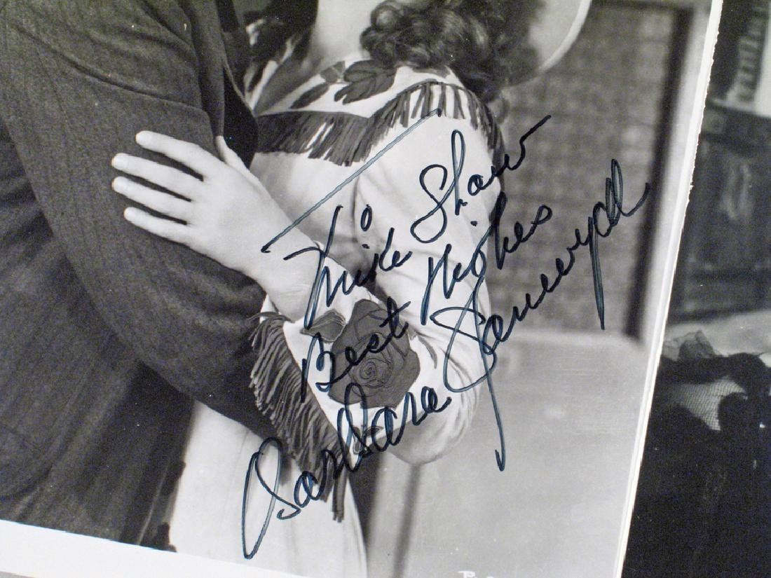 Barbara Stanwick Autograph Lot - 2