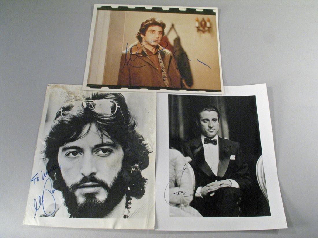 Al Pacino Autograph Lot