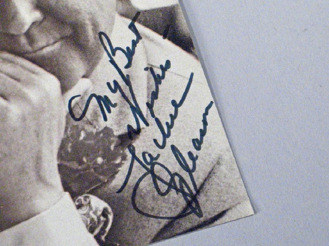 Jackie Gleason  Glossy Autograph Lot - 3