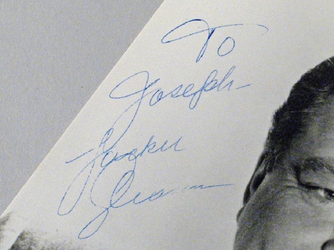 Jackie Gleason  Glossy Autograph Lot - 4