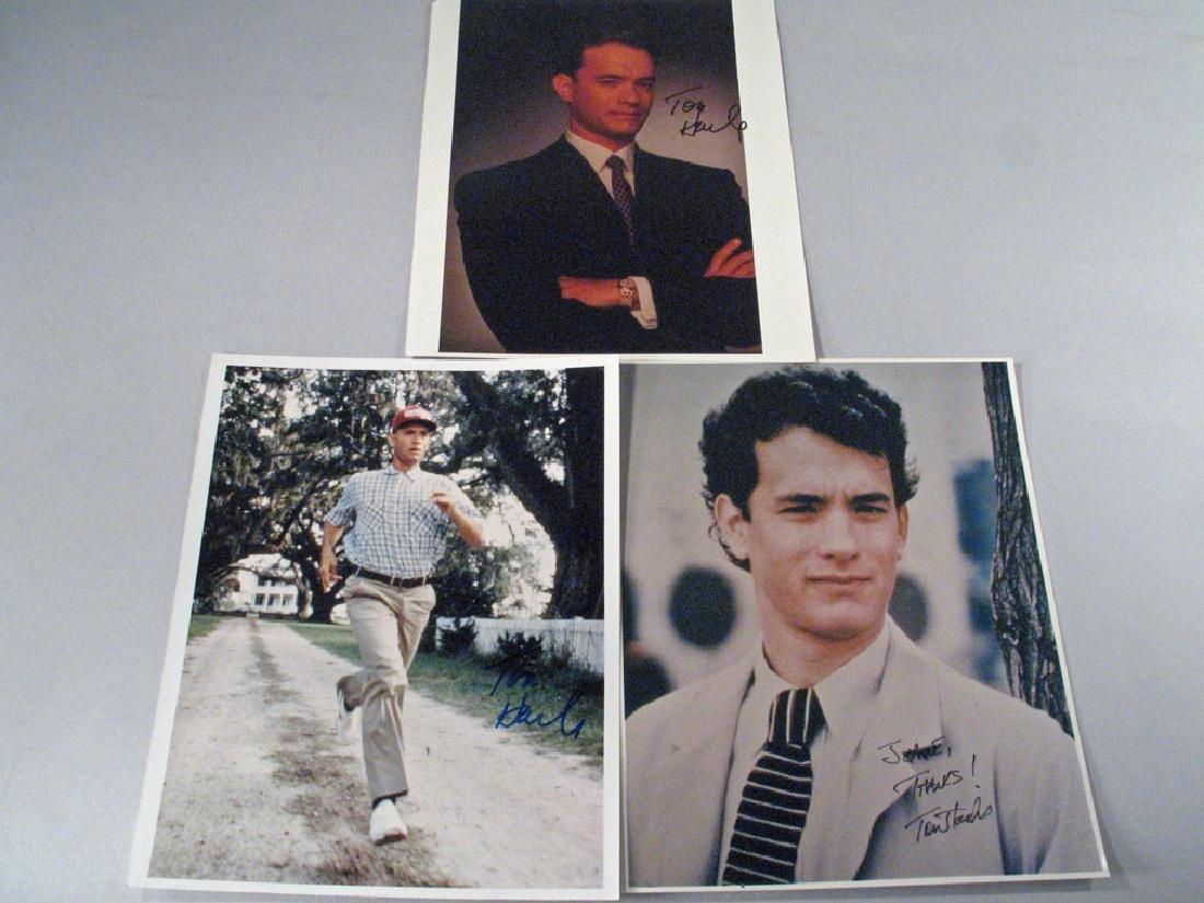 Tom Hanks Autograph Forrest Gump Lot
