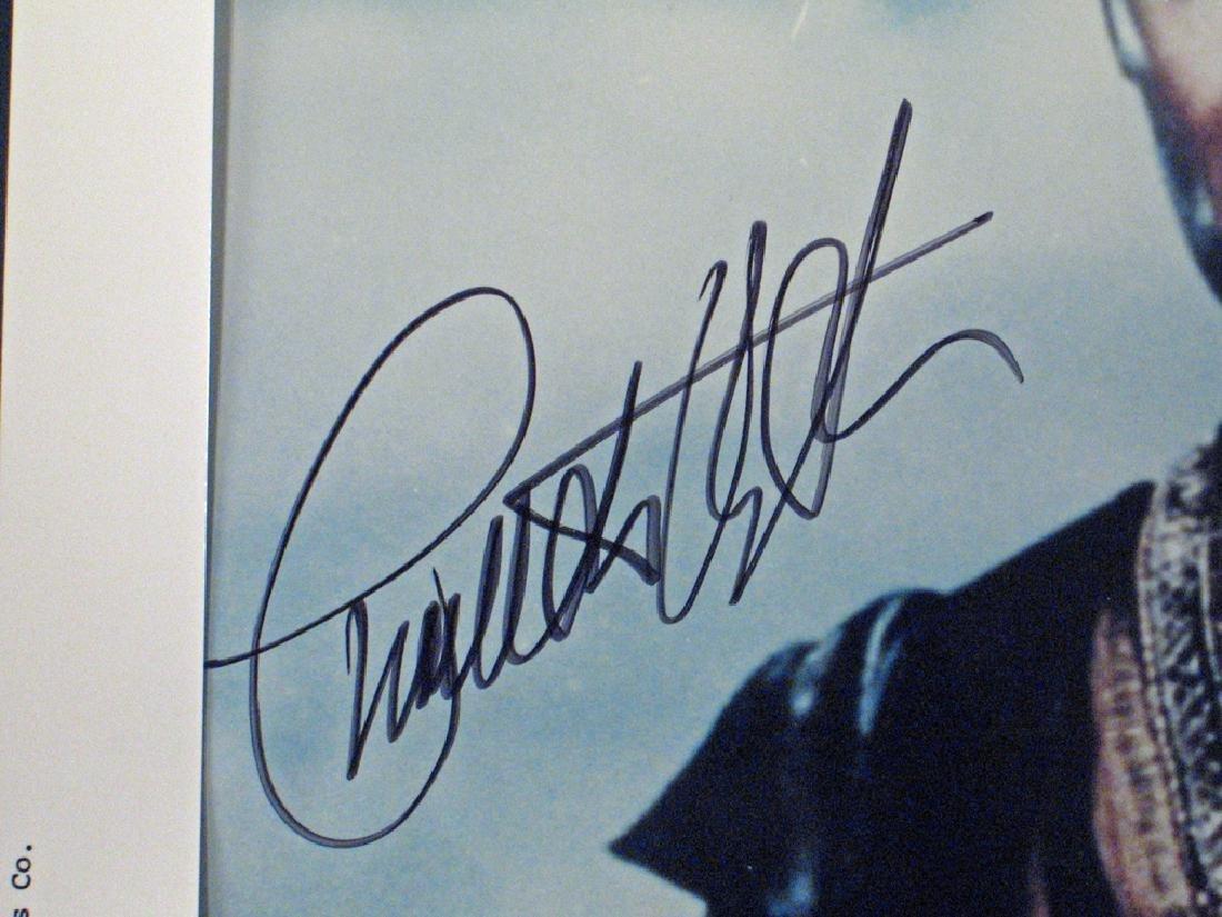 Charleton Heston Autograph Planet Apes, Moses Lot