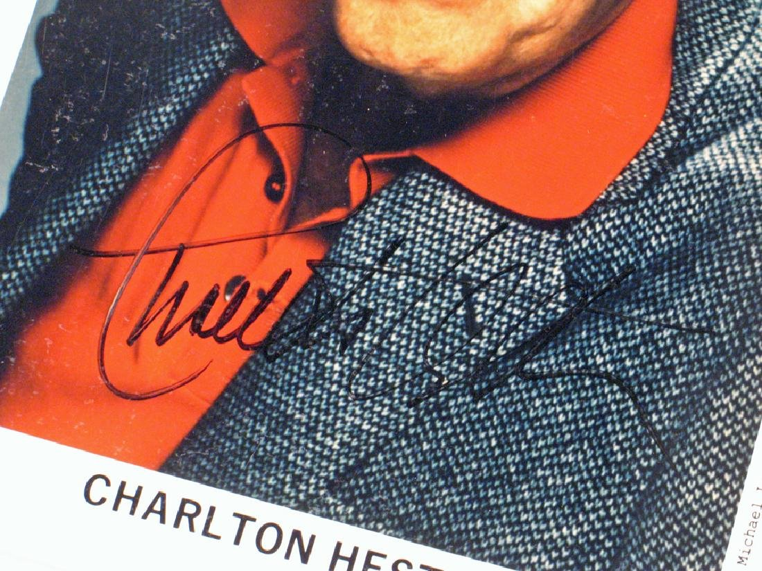Charleton Heston Autograph Planet Apes, Moses Lot - 2