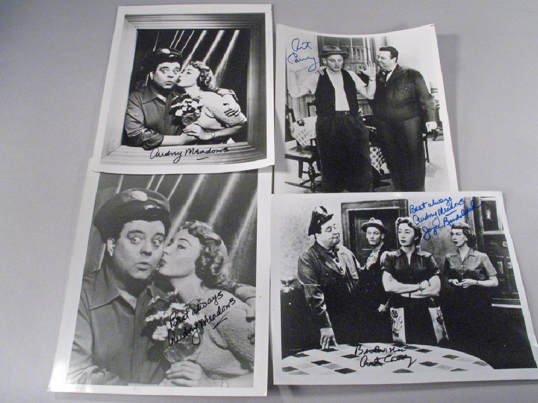 Honeymooners Art Carny, Audrey  Meadows Autographs