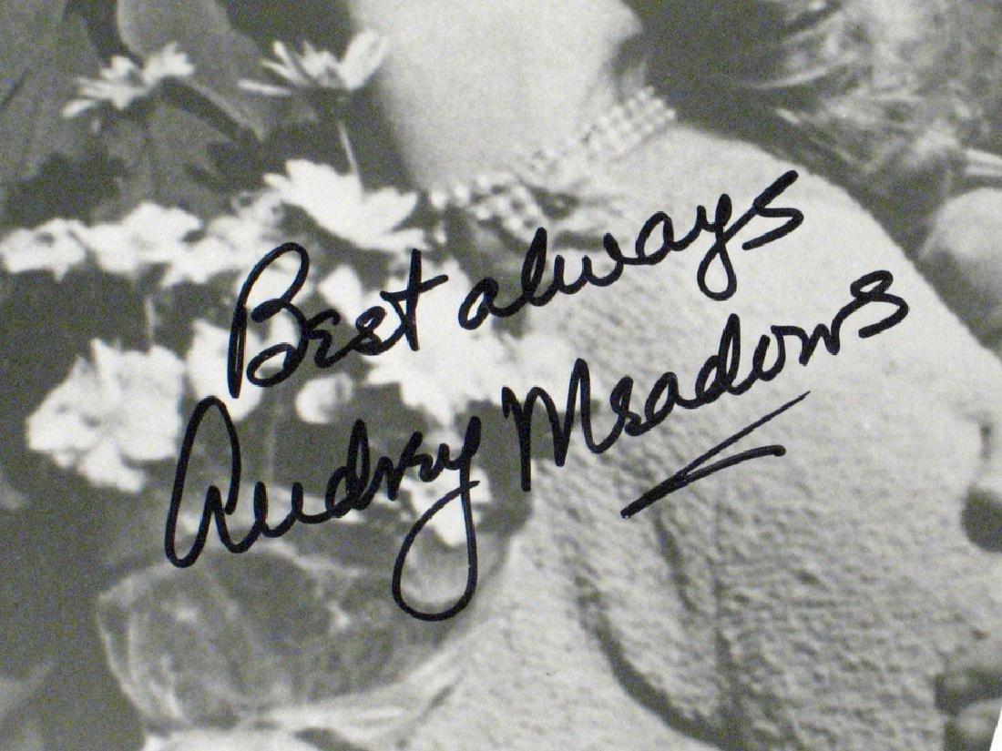 Honeymooners Art Carny, Audrey  Meadows Autographs - 2
