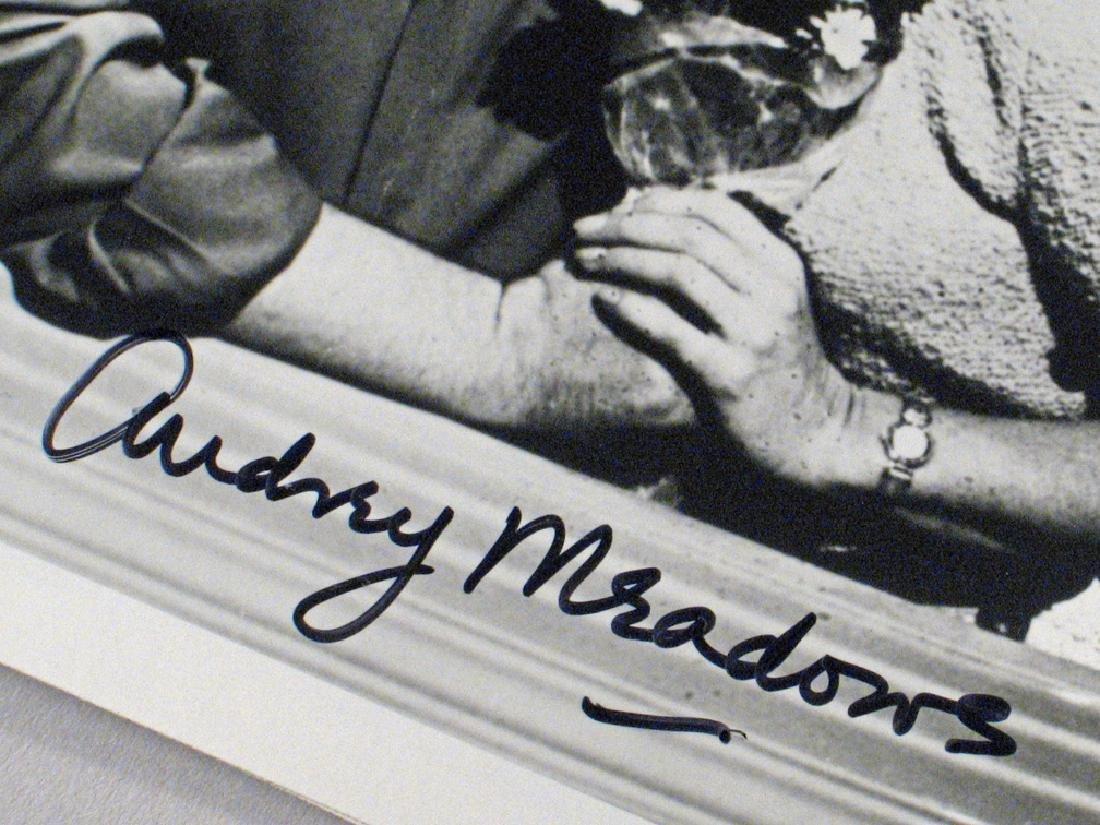 Honeymooners Art Carny, Audrey  Meadows Autographs - 5