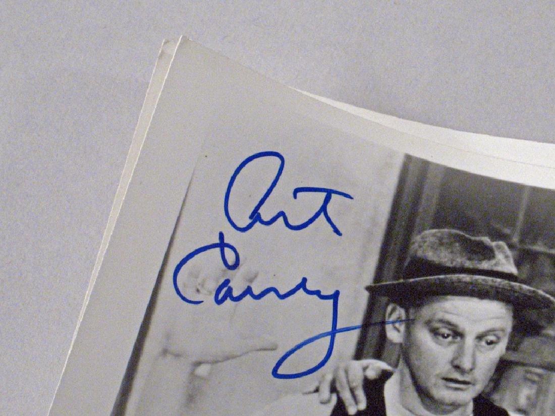Honeymooners Art Carny, Audrey  Meadows Autographs - 6