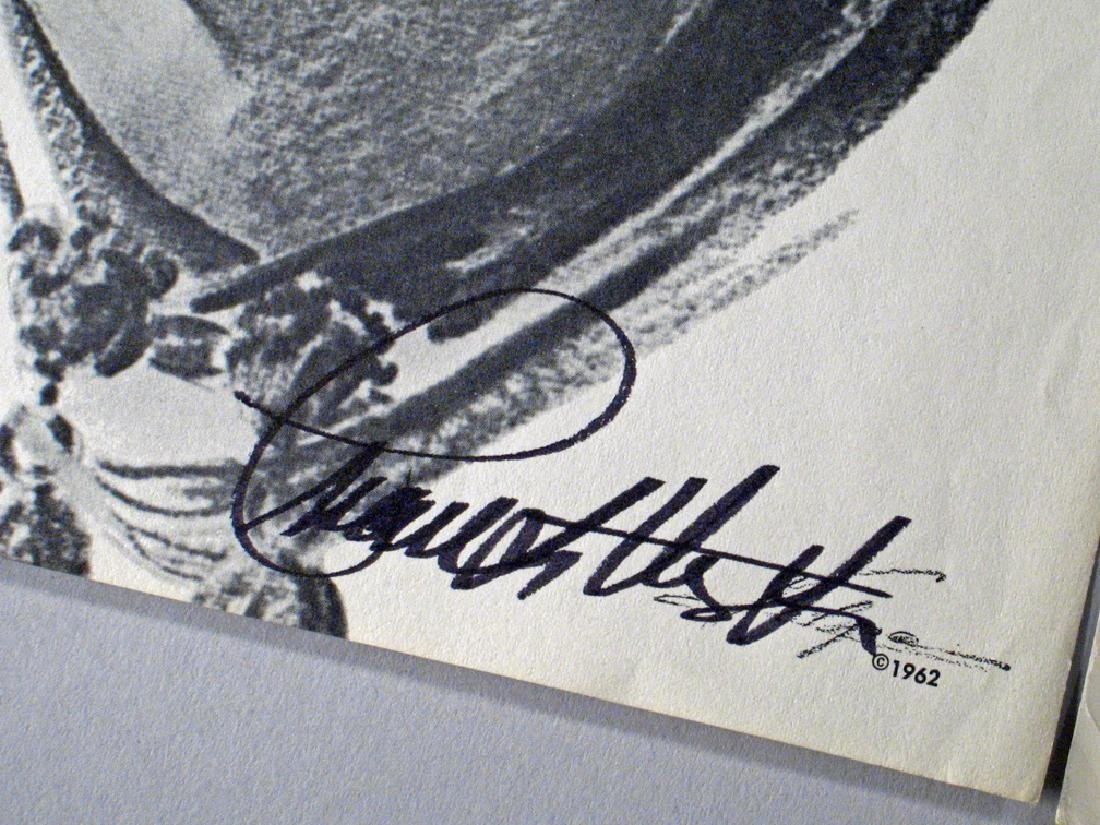 Charleton Heston Autograph Early Lot - 2