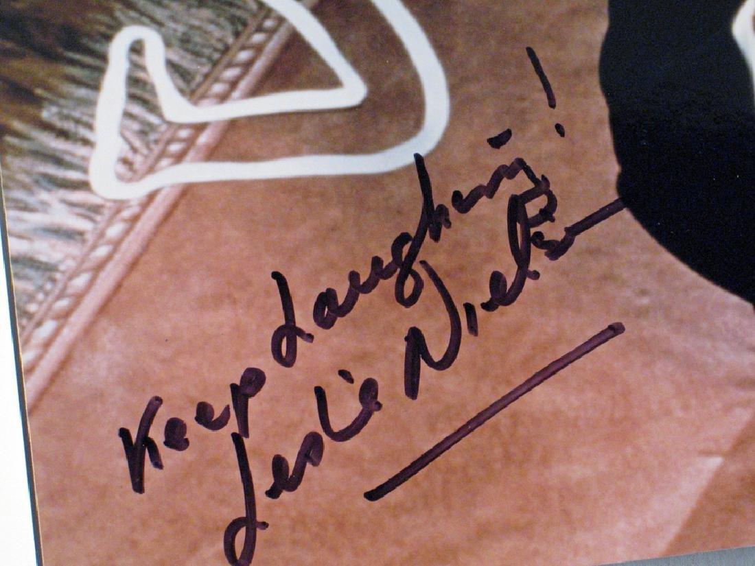 Leslie Nielson Autograph Lot - 3