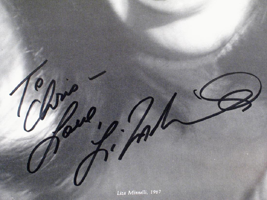 Liza Mineli Autograph Lot - 2