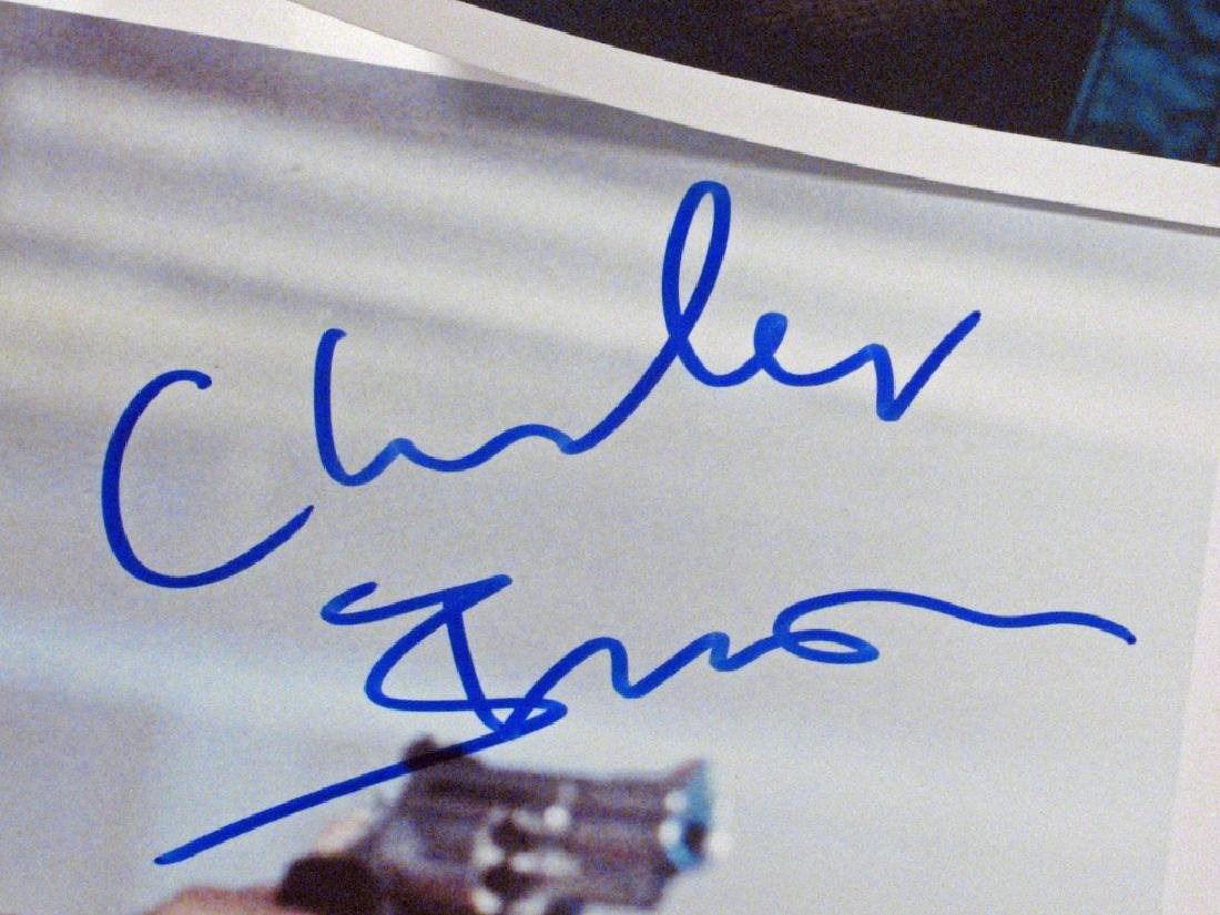Charles Bronson Autograph Lot - 2