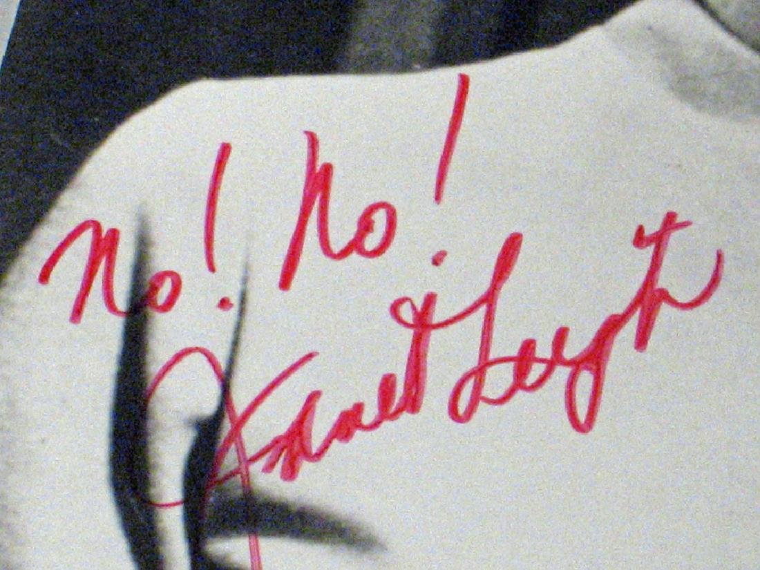 Janet Leigh Psycho Star Autograph Lot - 2