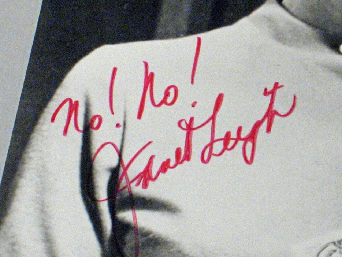 Janet Leigh Psycho Star Autograph Lot - 3