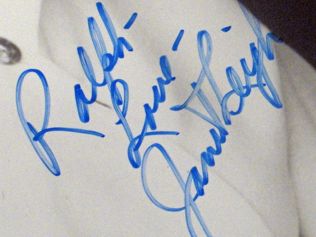 Janet Leigh Psycho Star Autograph Lot - 4