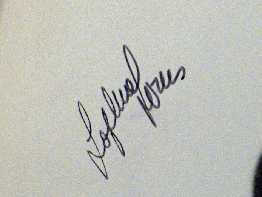 Sophia Loren Autograph Lot - 2